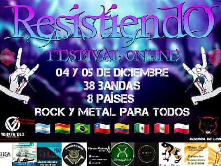 """""""RESISTIENDO FESTIVAL ONLINE"""" de Doncellas de Metal"""