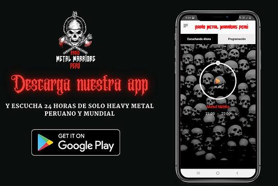App Android Aplicacion Radio Metal
