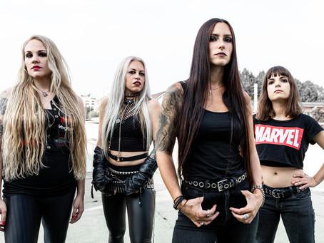 NERVOSA anuncia el lanzamiento de su cuarto álbum, PERPETUAL CHAOS, presentando nueva formación
