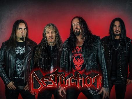 "Destruction ""Live Stream Attack"" 2021 | Tickets ya a la venta en Latinoamérica"
