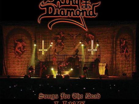 """KING DIAMOND: Concierto gratuito """"Songs For The Dead Live"""""""