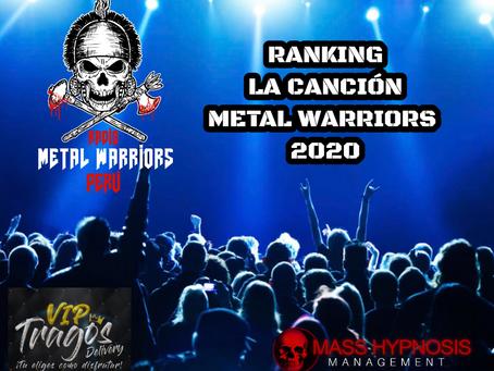 Votación para la Canción Metal Warriors Perú 2020