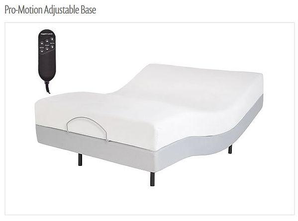pro-motion adjustabe base
