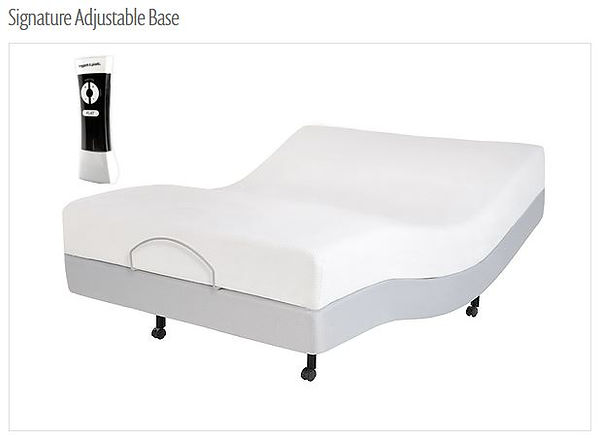 signature adjustable bed base
