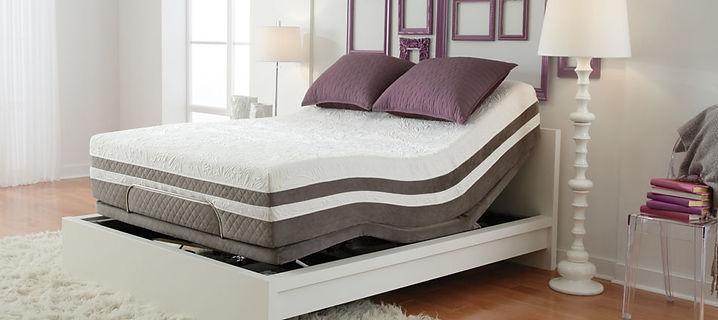 mattress on adjustable bed