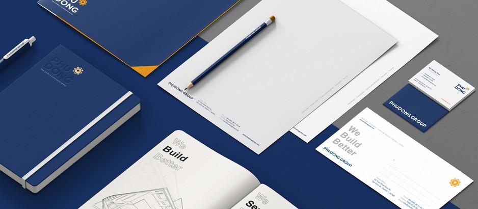 Dự án nâng cấp Logo Tập đoàn BĐS Phú Đông Group