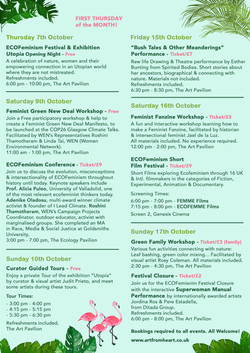ECOFeminism Festival Programme
