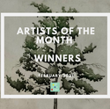 Artists of the Month - February 2021 WINNERS