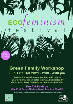 Poster_GreenFamilyWorkshop