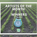 Artists of the Month - April 2021 WINNERS!