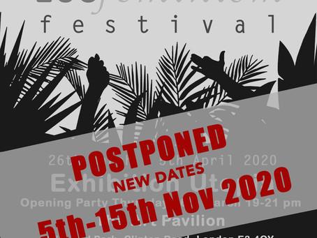 ECOFeminism Festival NEW DATES 5th - 15th Nov 2020!