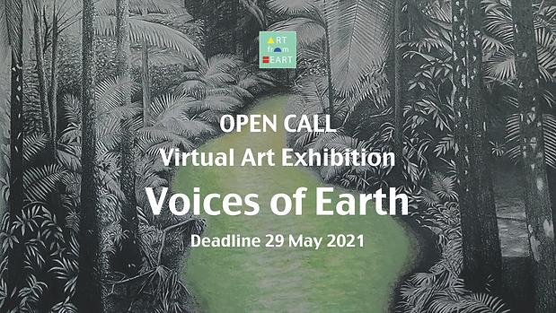Open Call Voices of Earth Virtual Art Ex