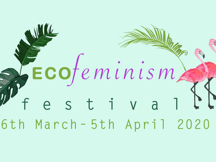 ECOFeminism Festival OPENING PARTY, 26 March, 19-21 pm, Art Pavilion.