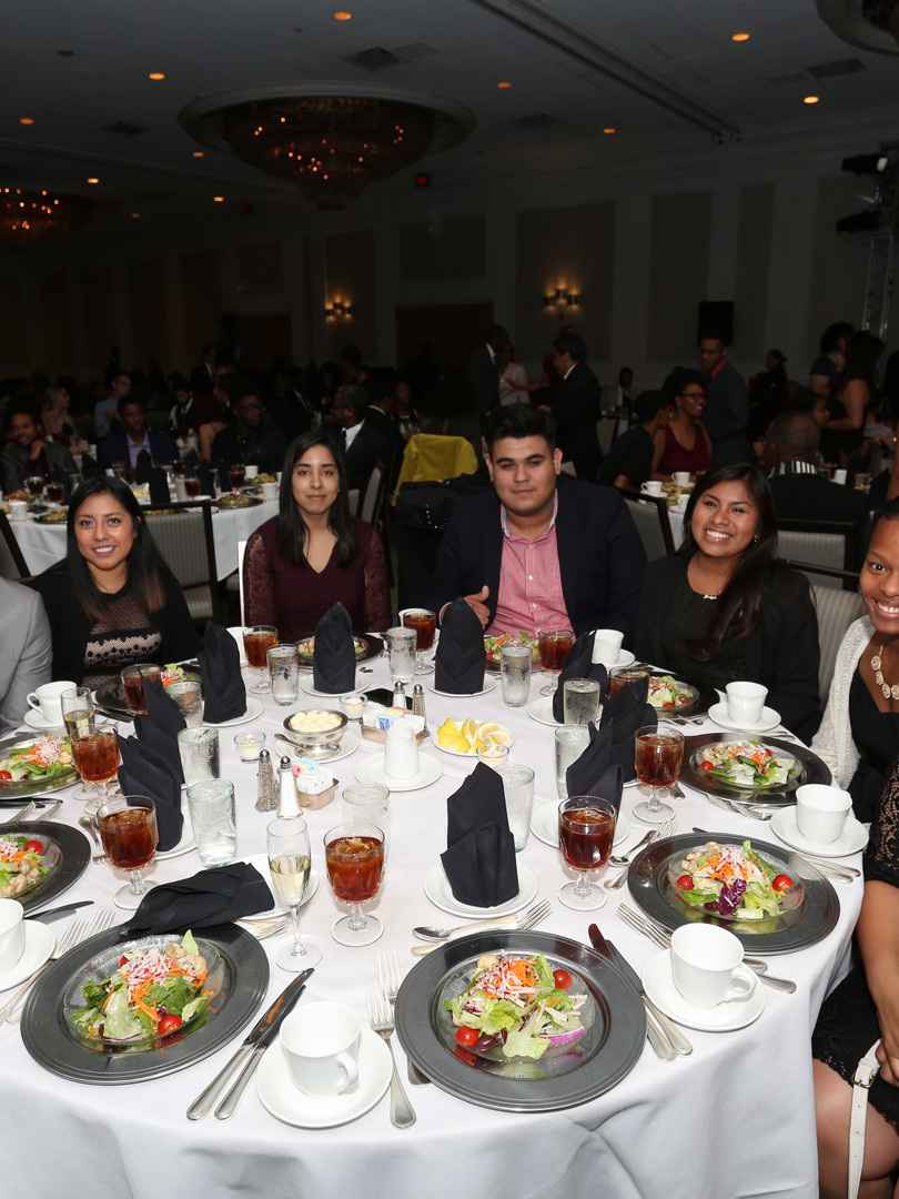 Students at the 2017 NOMA Awards Banquet