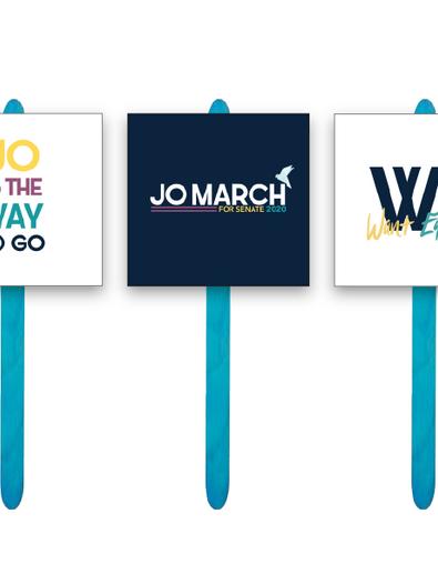 Jo March Sign Kit