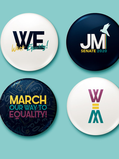 Jo March Buttons