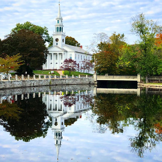 Milford Connecticut Church Fall Reflections