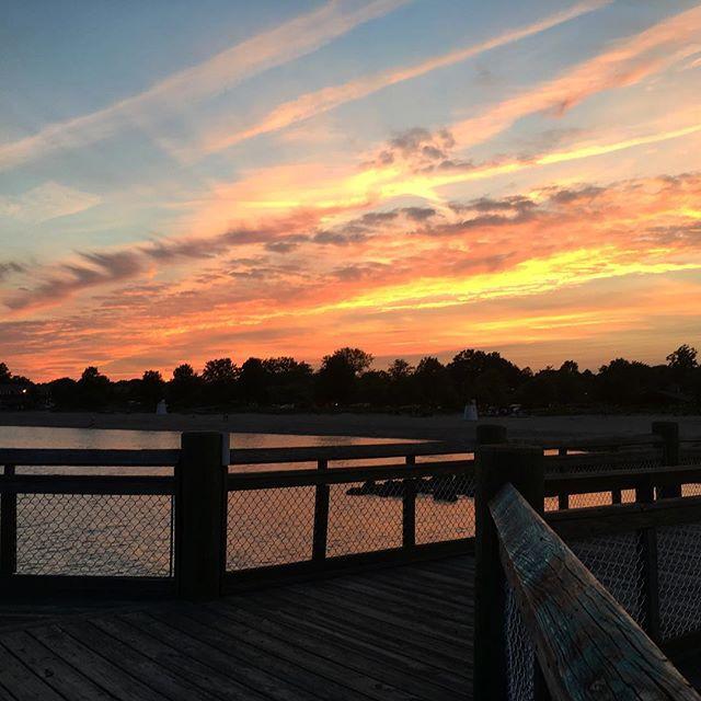 Walnut Beach Sunset