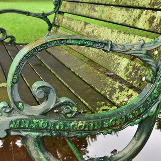 Milford Green Antique Benches