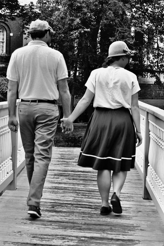 Walking Back in Time