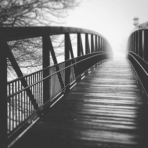 Hotchkiss Bridge Black and White