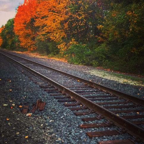 Splashes of Autumn Railroad