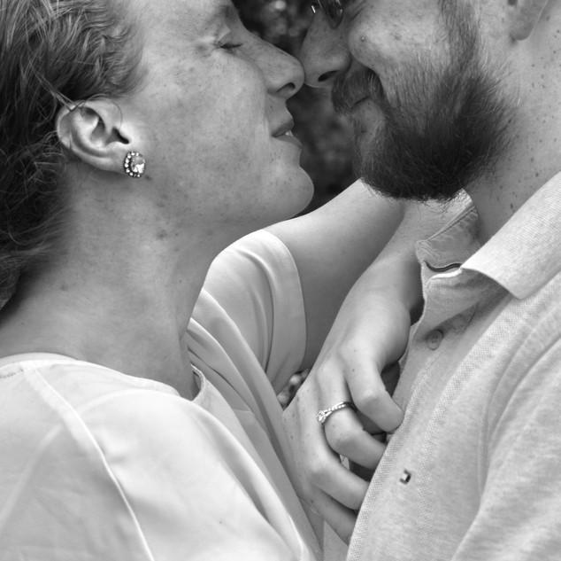 Engaged Happy Couple