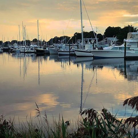 Milford Marina Sunsets