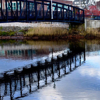 Hotchkiss Bridge Reflections