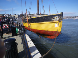 Lift from the Harbour at Conwy