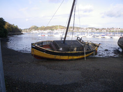 Dec 2011 - Beached in Conwy Harbour