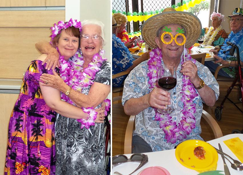 Celebrating Melbourne Cup Luau