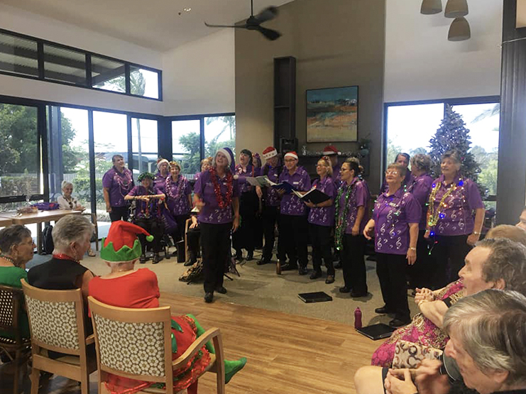 Narangba Aged Care Christmas