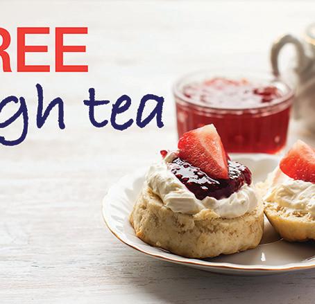 FREE high tea