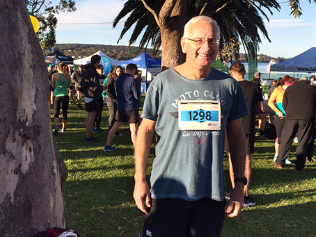 Ken Competes in the Lake Macquarie Run!