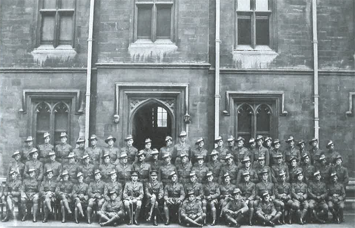 Officers in Training 1917