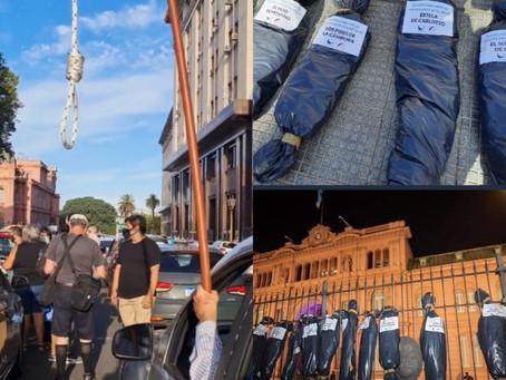 COMUNICADO URGENTE: LA MESA DE ORG DE DDHH REPUDIA TODA EXPRESIÓN DE FASCISMO. #NoPasarán