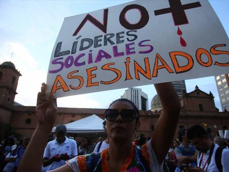 «DEFENDER DERECHOS HUMANOS EN COLOMBIA ES UNA ACITIVIDAD DE ALTO RIESGO»