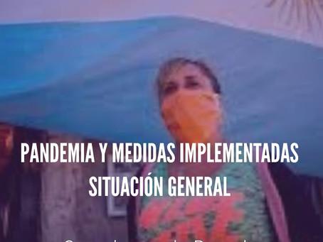Los Organismos de Derechos Humanos frente a la pandemia de coronavirus y las medidas implementadas
