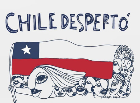 REPUDIAMOS LA MILITARIZACIÓN Y REPRESIÓN AL PUEBLO CHILENO