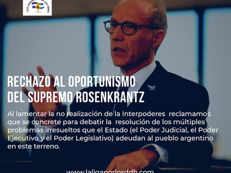 PRONUNCIAMIENTO POR EL LEVANTAMIENTO DE LA REUNIÓN INTERPODERES