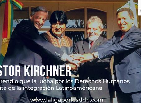 El aporte de Nestor Kirchner a la lucha por los Derechos Humanos