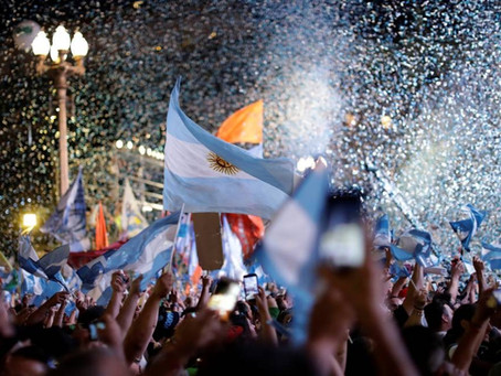 Saludo al nuevo gobierno ¡Por una Argentina para todas y todos!