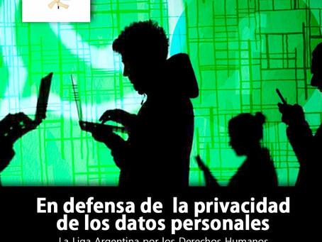 """""""En defensa de la privacidad de los datos personales"""""""