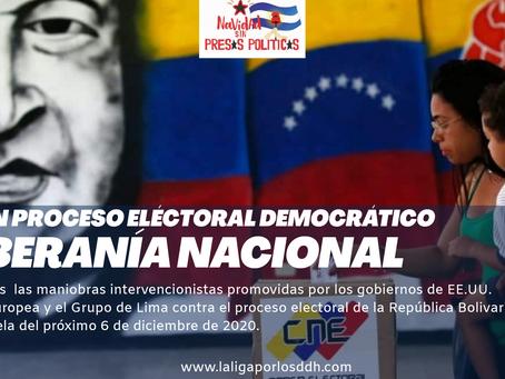 La defensa de la Revolución bolivariana es la defensa de la democracía en  LatinoAmérica