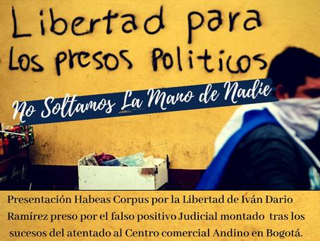 HABEAS CORPUS POR IVAN DARIO RAMIREZ LEON