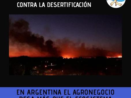 El fuego de las grandes propiedades.