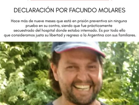 DECLARACIÓN POR FACUNDO MOLARES