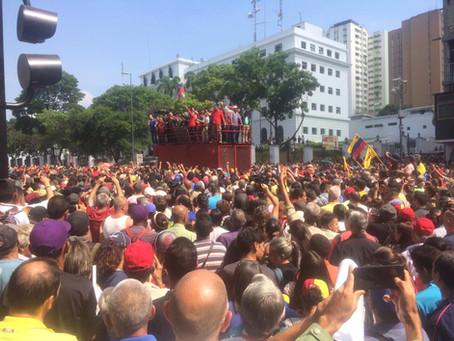 NO AL GOLPE DE ESTADO EN VENEZUELA!