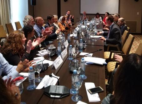 Entrevista con la Corte Interamericana de Derechos Humanos de la OEA